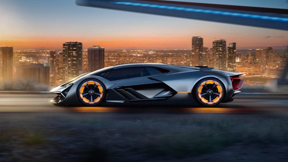Lamborghini представили авто, которому не страшны царапины на кузове