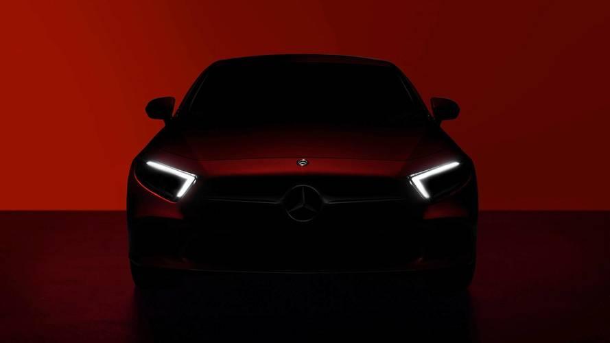 Первые официальные изображения нового Mercedes Benz CLS 2018