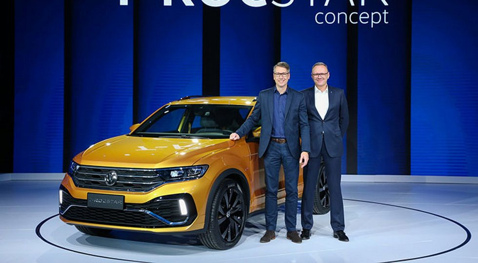 В «Поднебесной» дебютировал новый кроссовер VW T-Rocstar