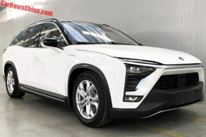 Китайский конкурент Tesla Model X поступит в продажу с декабря
