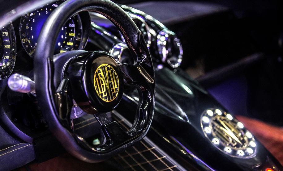 Дубайская компания представит автомобиль-«дьявол» мощностью 5 тыс. л.с