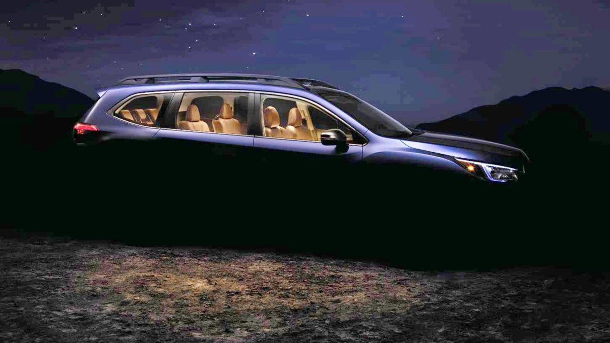 Представлены официальные фото преемника Subaru Tribeca