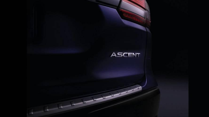 Первые фото большого кроссовера Subaru Ascent