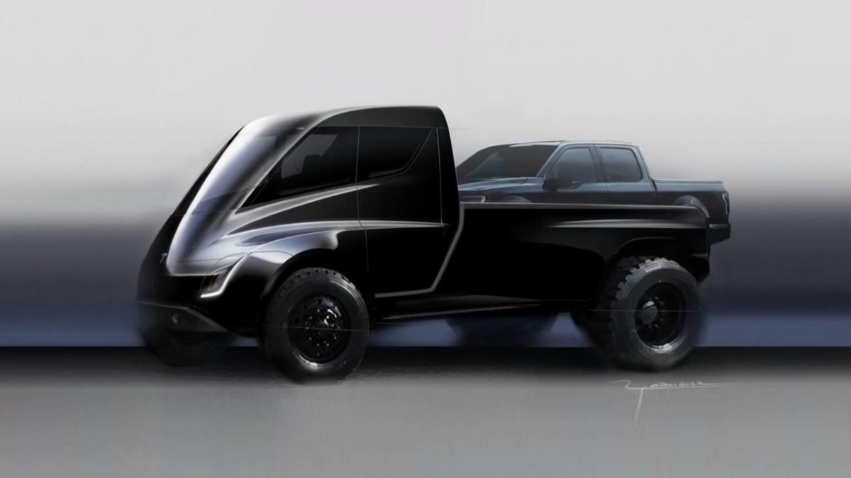 Каким будет первый пикап Tesla
