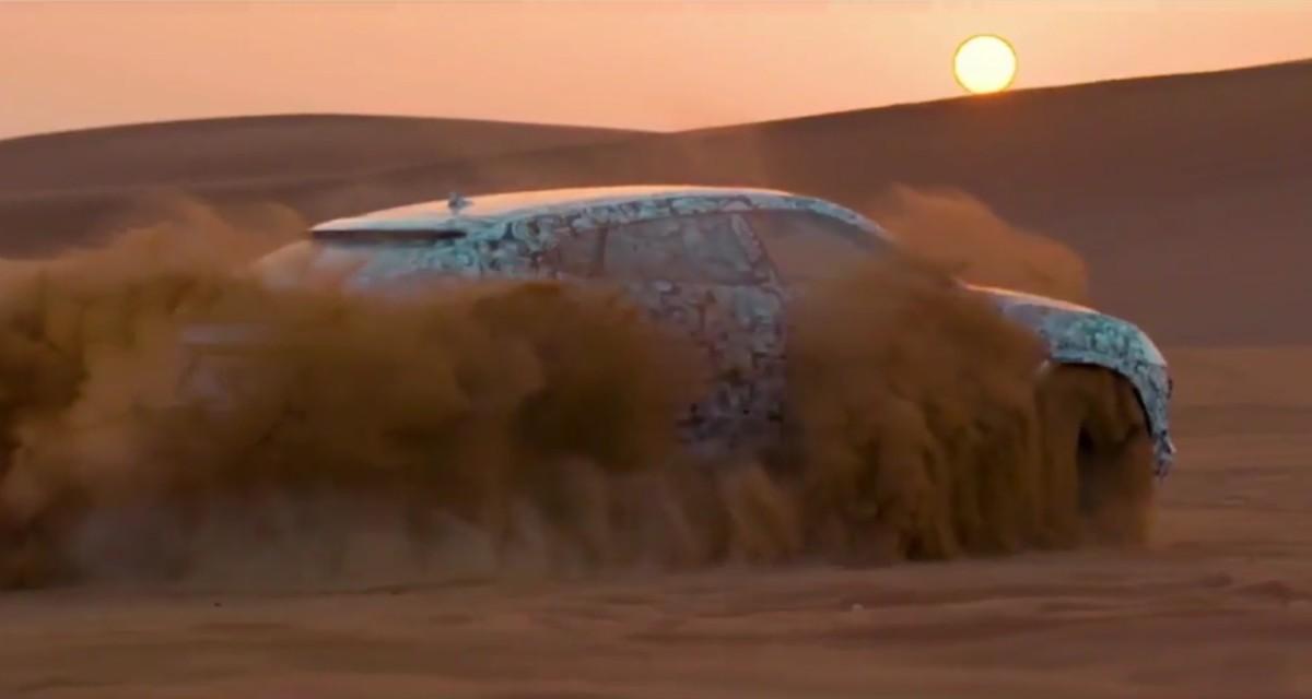 Кроссовер Lamborghini Urus 2018 впервые показали на бездорожье