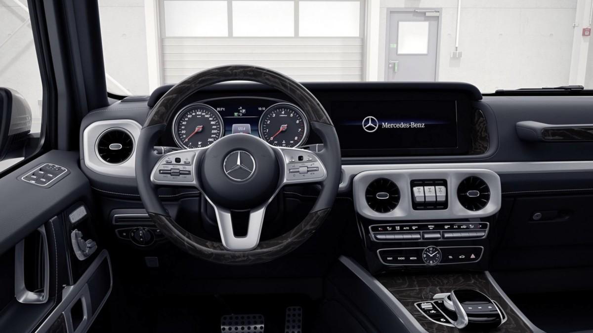 Новый Mercedes Benz G-Class 2019 впервые показали