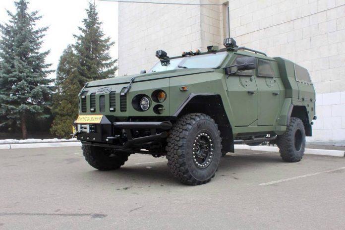 ВУкраинском государстве создали новые бронеавтомобили для Нацгвардии: появились фото
