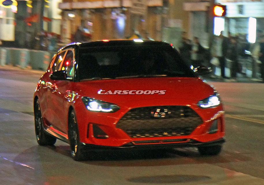 Новый Hyundai Veloster представят в Детройте