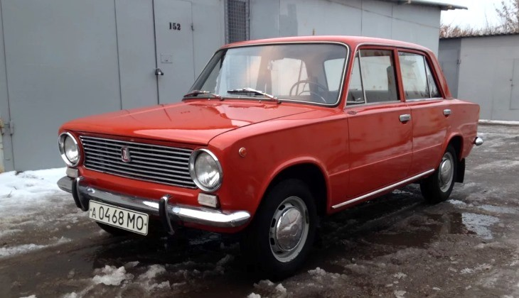В Российской Федерации 35-летняя «Копейка» продается за1,5 млн. руб.