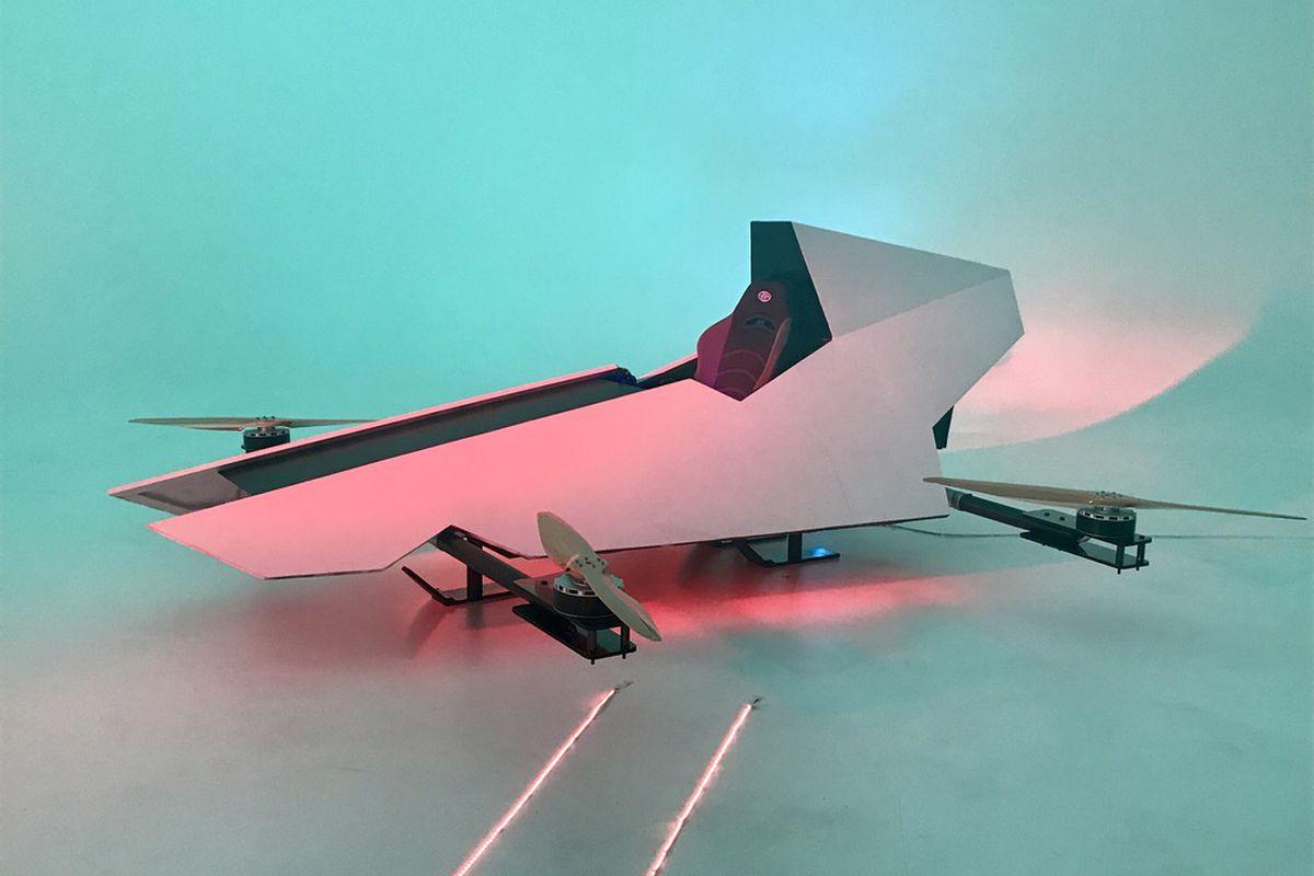 Гоночный летающий автомобиль Airspeeder Alauda Mark 1
