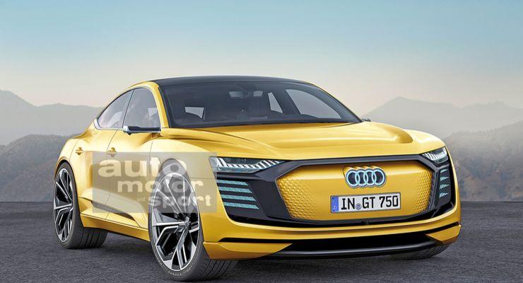 Audi представит конкурента Tesla Model S в 2022 году