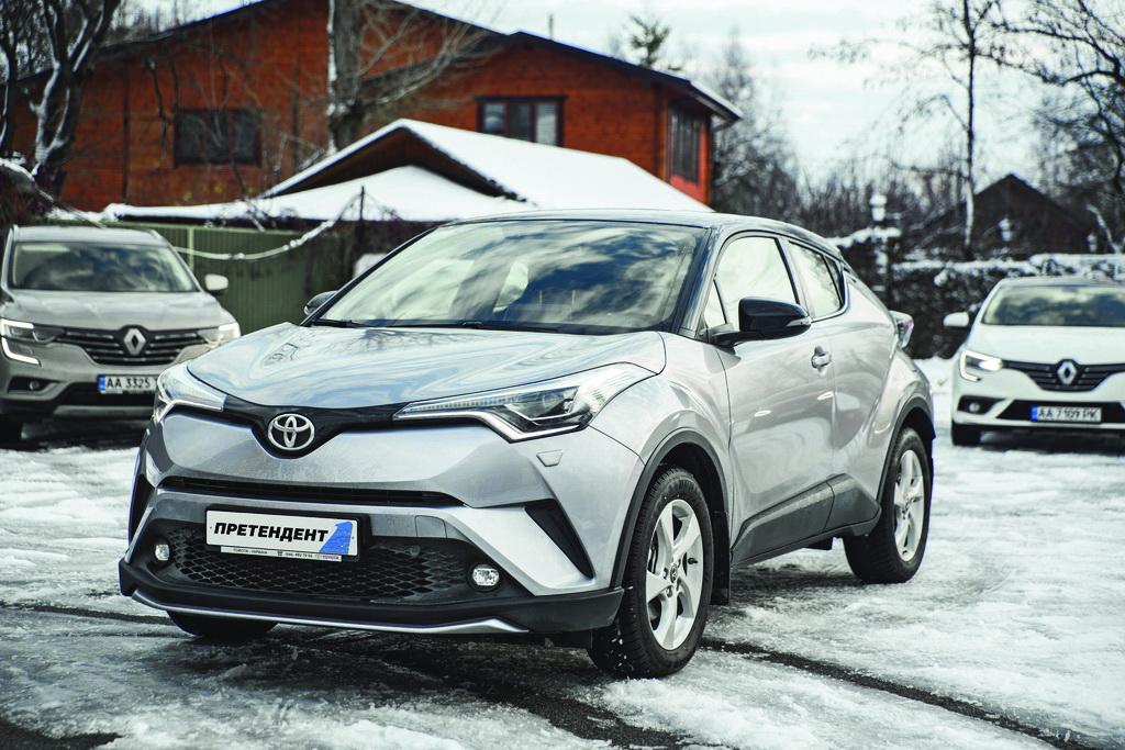 Toyota C-HR Hybrid названа лучшим городским кроссовером в Украине