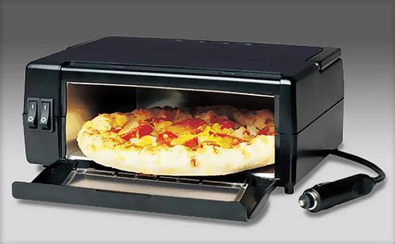 Самые необычные аксессуары для авто на AliExpress - втомобильная печка для пиццы