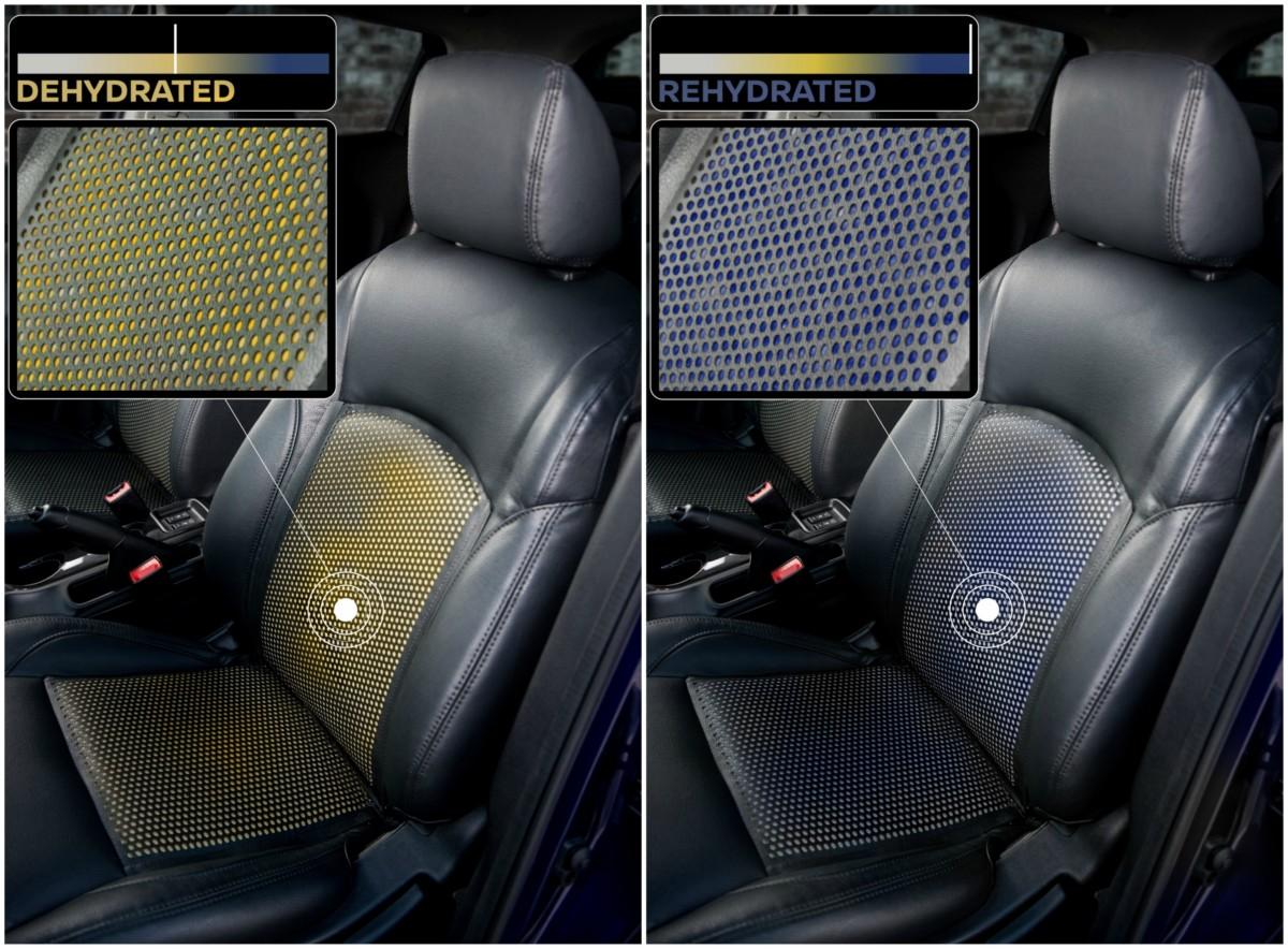 Винегрет из забавных фактов - покрытие на сиденье Soak от Nissan