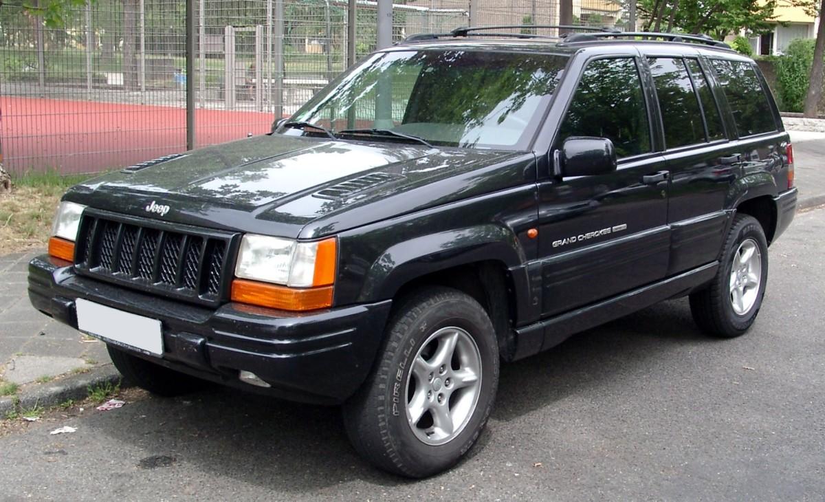 Культовые автомобили 90-х годов Jeep Grand Cherokee