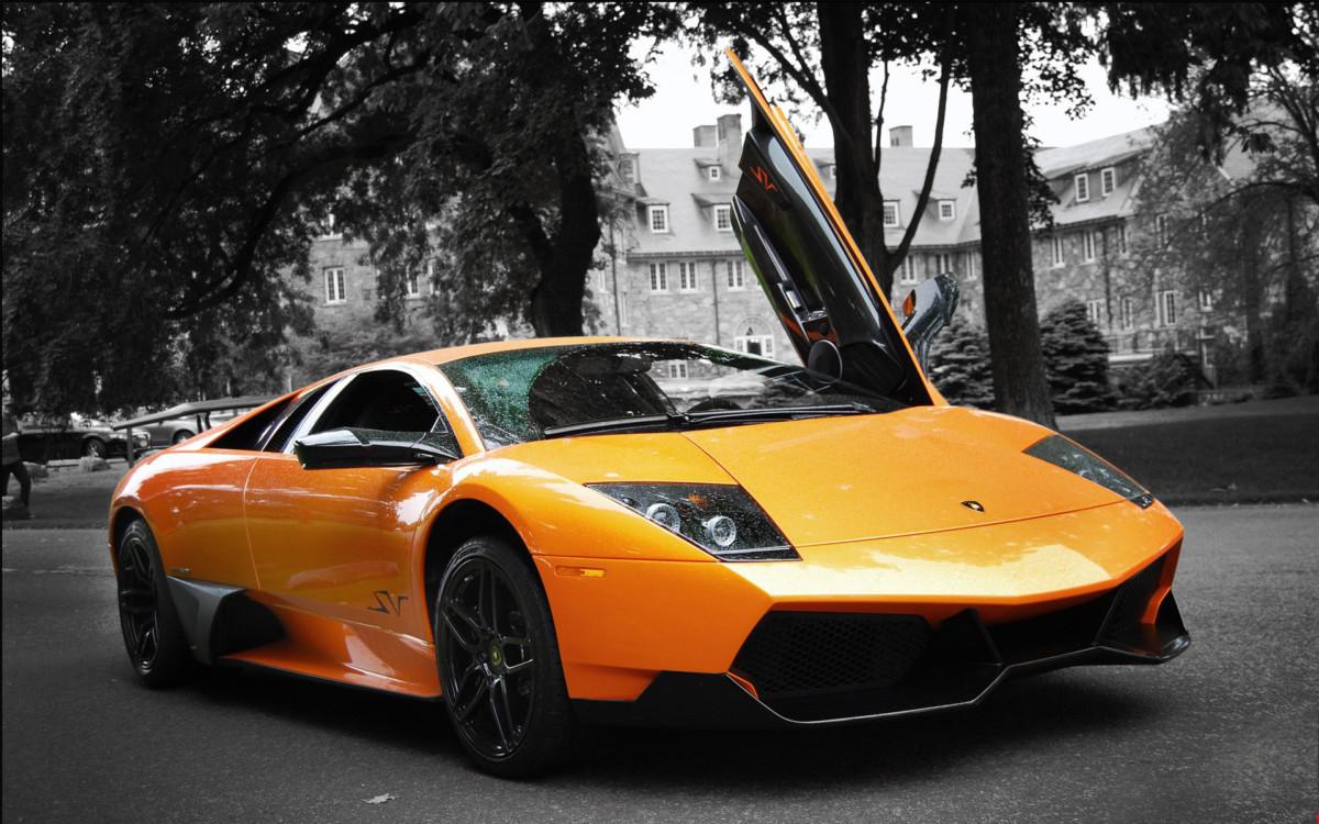 Автомобиль Lamborghini Murciélago LP 670-4 SuperVeloce