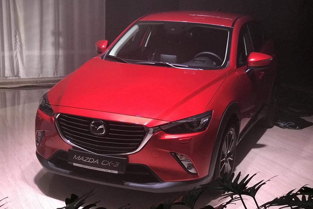 Mazda CX Party