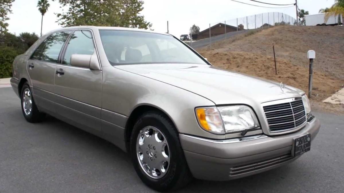 Культовые автомобили 90-х годов шестисотый Mercedes-Benz S 600