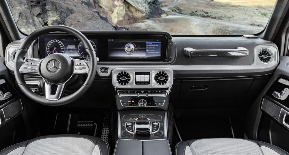 Фото очаровательного интерьера Mercedes G-Class появилось вweb-сети