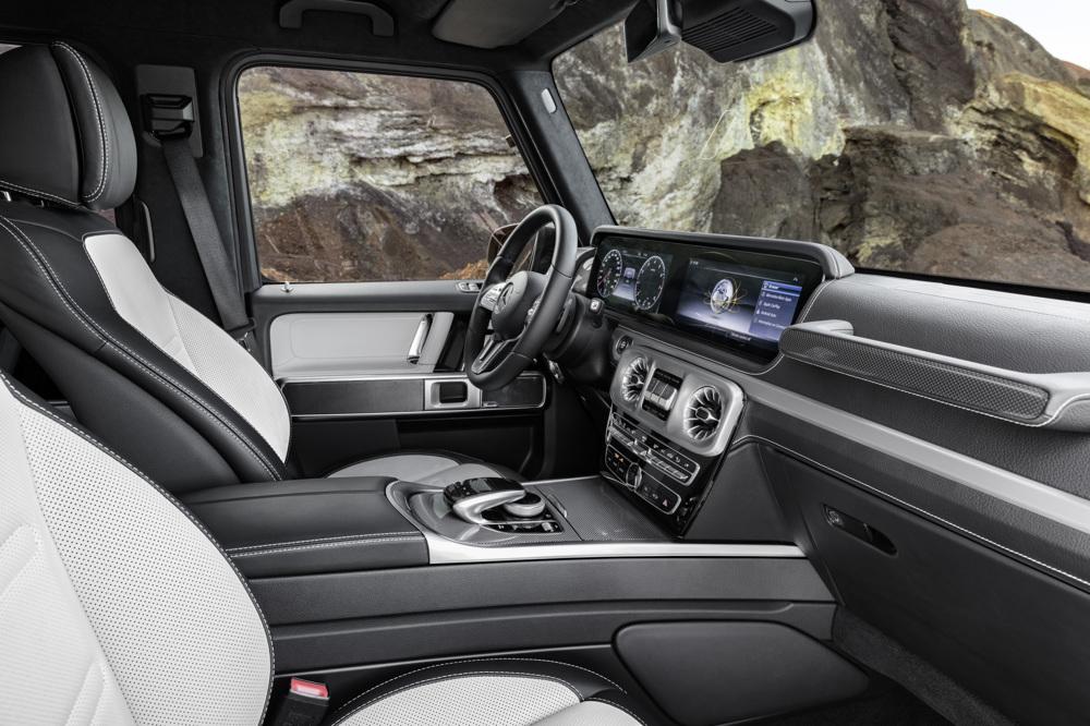 ВГермании представили дизайн нового джипа Mercedes G-Class