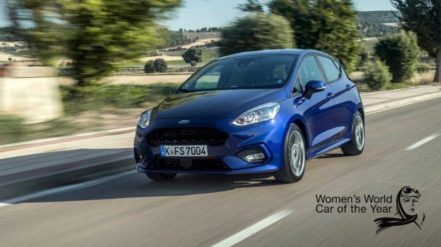 Форд Fiesta признан самым лучшим дамским автомобилем вмире