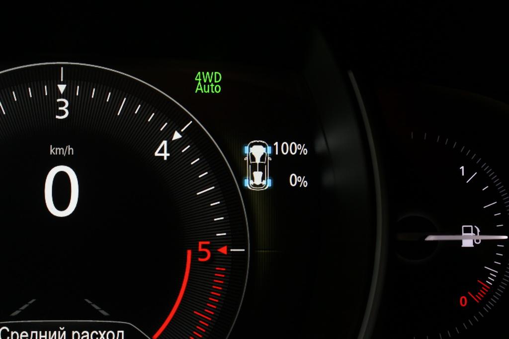 Полный привод Renault Koleos 2017