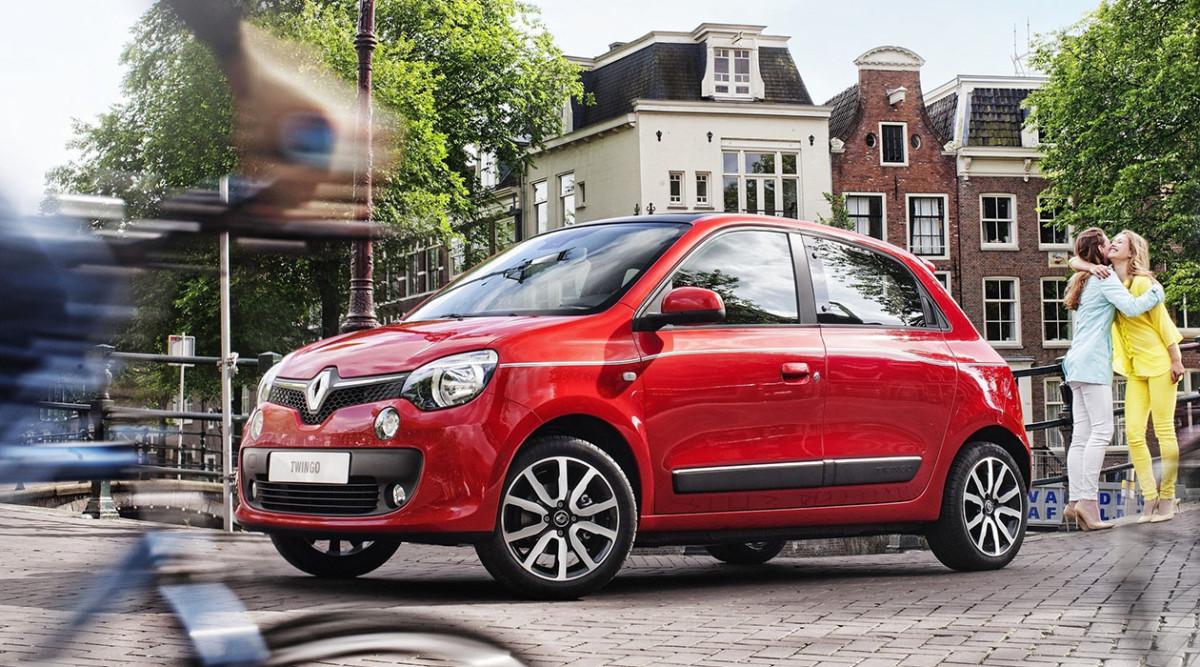 Renault Twingo заднемоторное авто