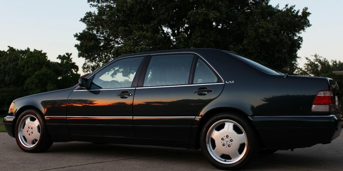 Культовые автомобили 90-х годов Mercedes-Benz S 600