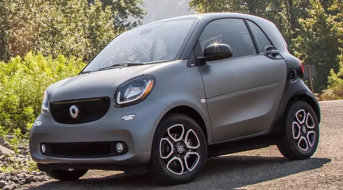 Smart Fortwo заднемоторное авто