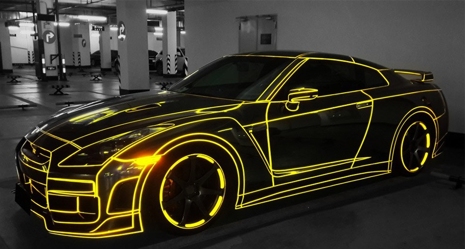 Светоотражающая лента для авто