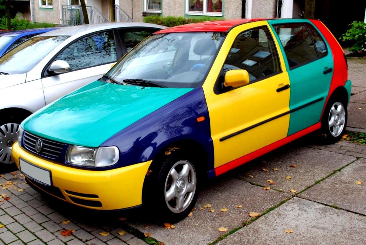 Цвет авто по фэн-шуй - советы