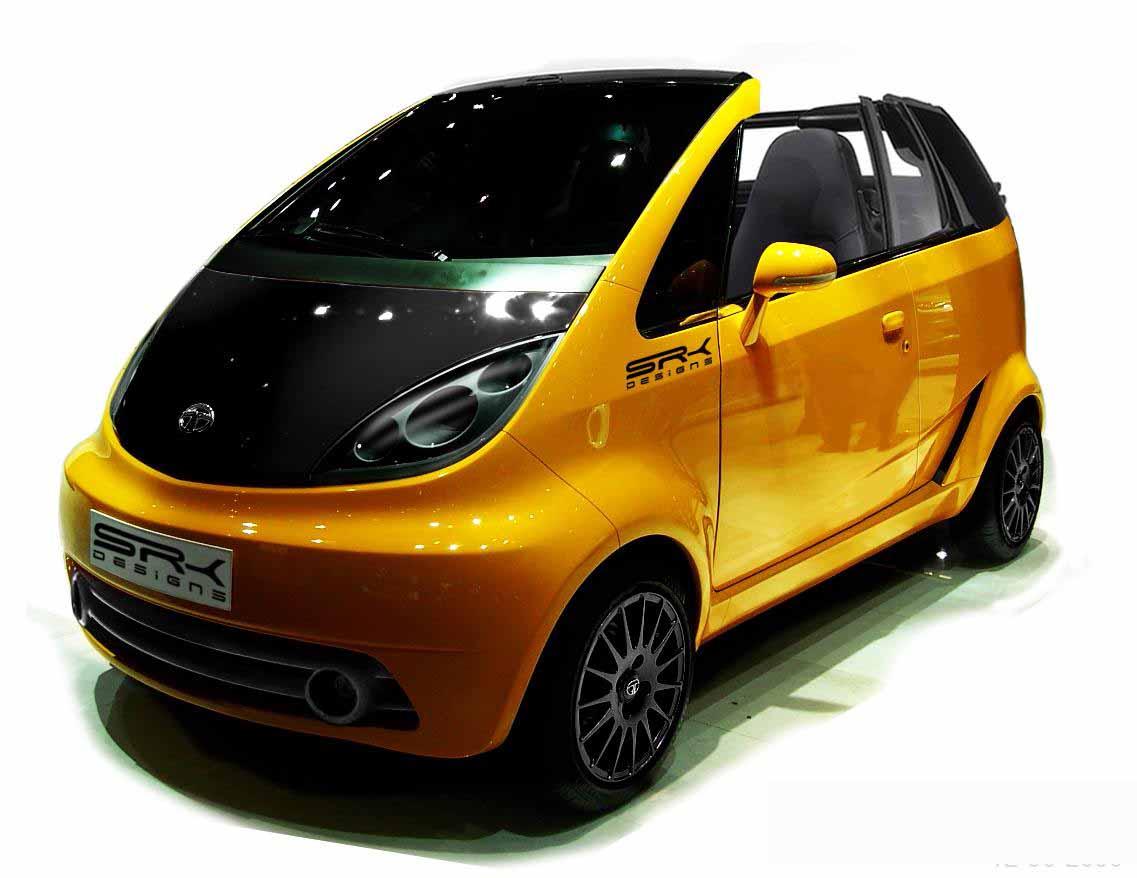 Tata Nano заднемоторное авто