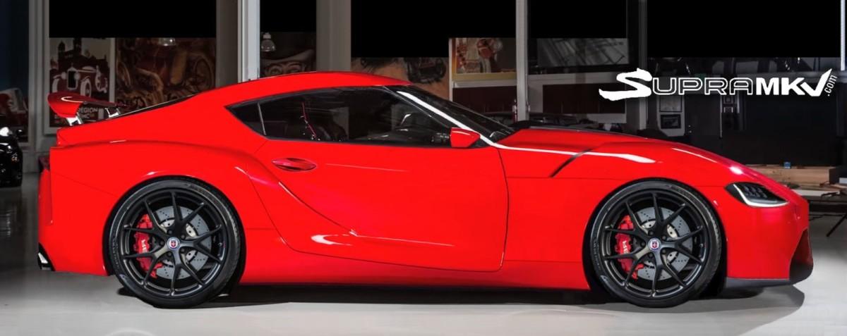 Новая Toyota Supra 2019 рассекречена