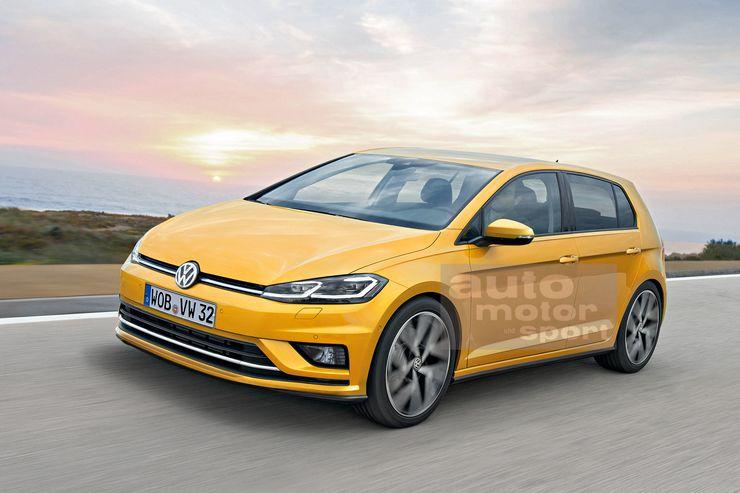 Новый Volkswagen Golf 8: яркий дизайн и экономичные двигатели