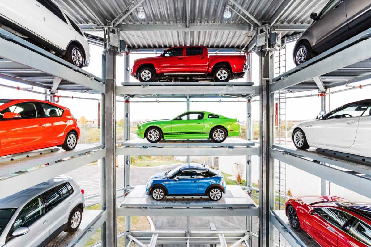 Винегрет из забавных фактов - 15-этажный автомат по продаже автомобилей