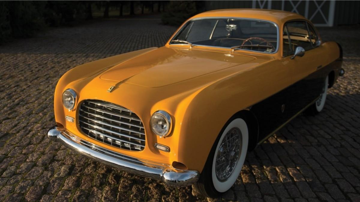Раритетную Ferrari с интересной историей продадут с аукциона