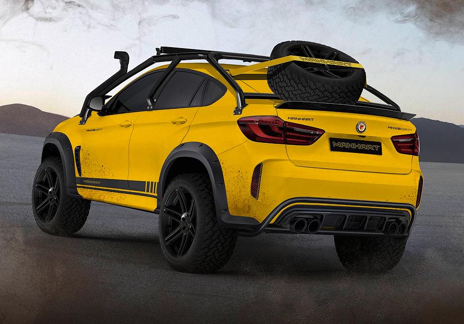 Как выглядит самый экстремальный кроссовер BMW X6