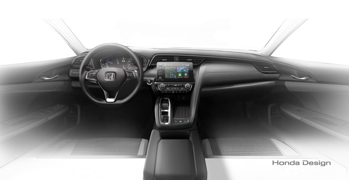 Первые фото конкурента Toyota Prius от Honda