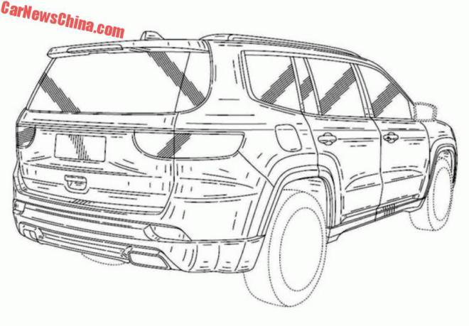 Рассекречен самый большой кроссовер Jeep