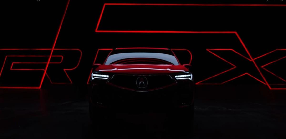 Первые фото и видео новой Acura RDX 2019
