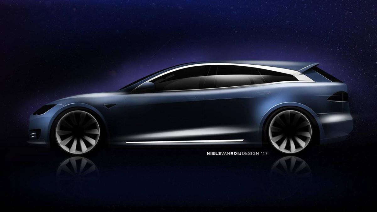 Универсал Tesla Model S