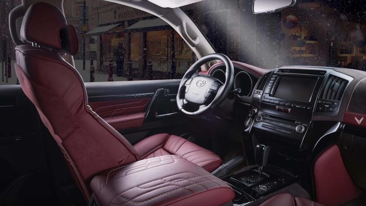 Тюнинг Toyota Land Cruiser: