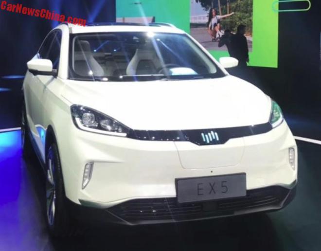 В Китае представлен электрокроссовер с запасом хода больше, чем у Теслы