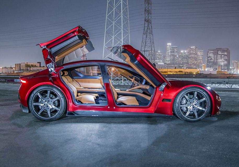 Электрокар Fisker EMotion: 640 км запаса хода и молниеносная зарядка