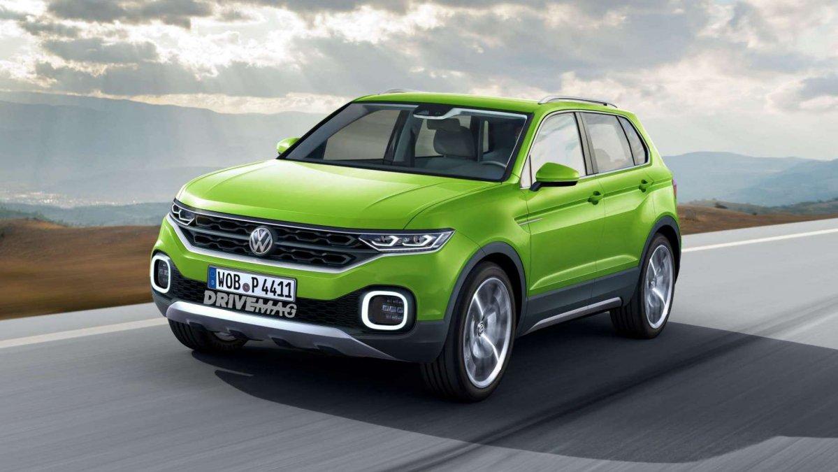 Самый маленький кроссовер Volkswagen покажут осенью