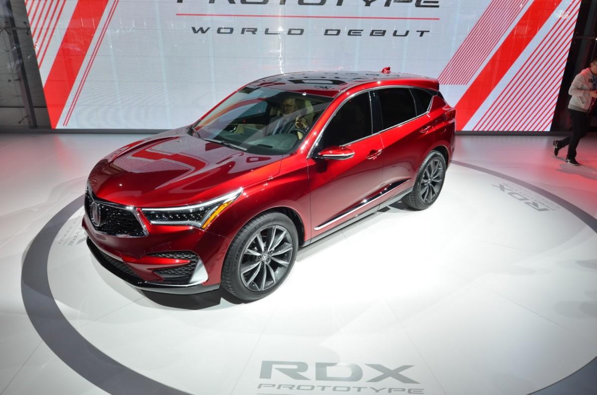 Новая Acura RDX 2019 рассекречена в Детройте
