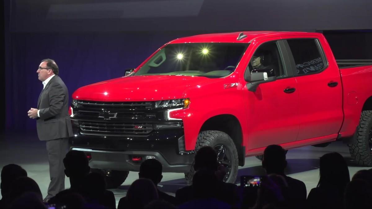 Детройтский автосалон 2018: представлен новый пикап Chevrolet