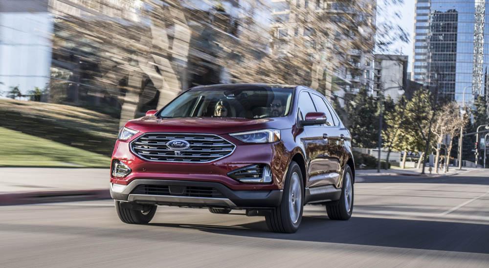 Официальные фото Ford Edge 2019