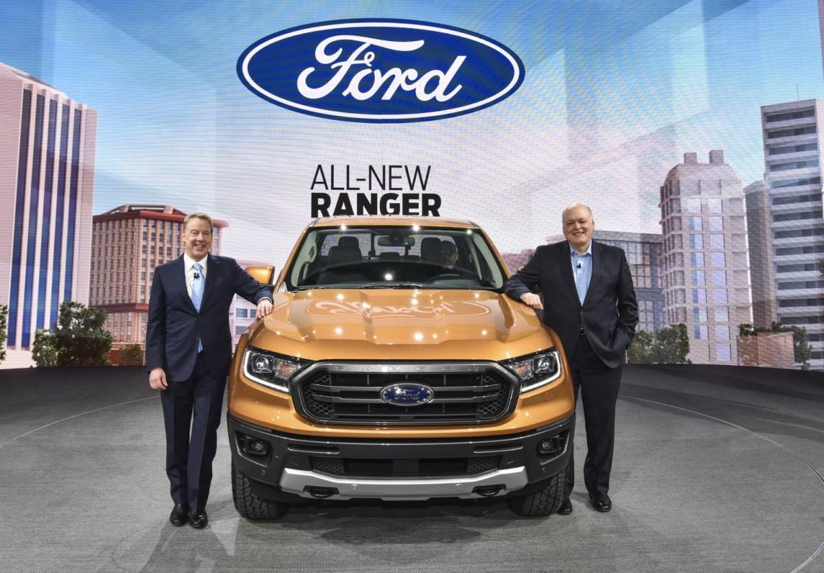 Новый Ford Ranger 2019 представили в Детройте (живые фото)