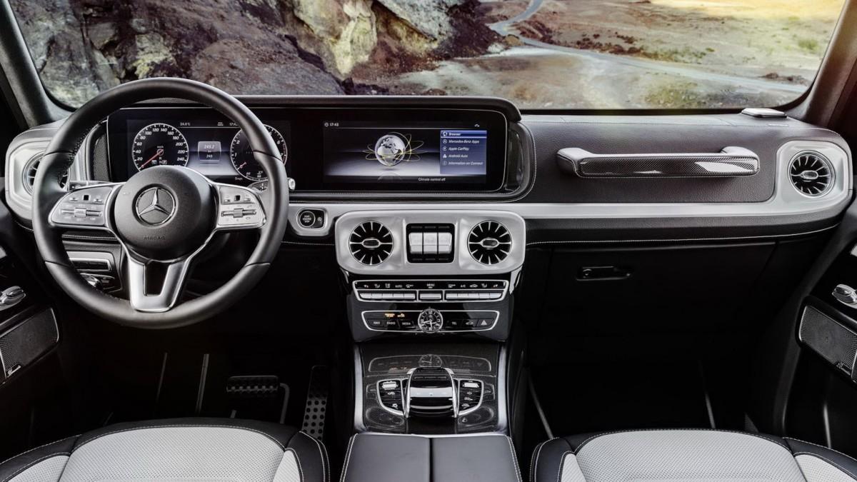 Интересные факты про новый Mercedes G-Class 2019
